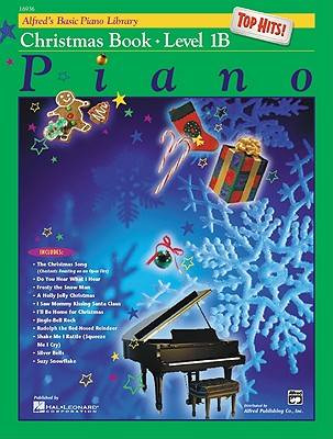 Alfred's Basic Piano Library Top Hits! Christmas, Level 1B