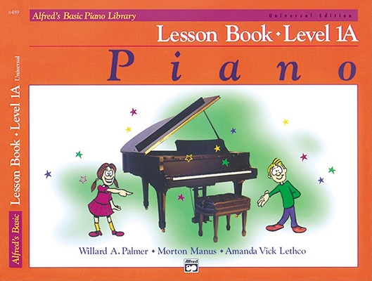 Image for Alfred's Basic Piano Course Lesson Book Level 1A (Alfred's Basic Piano Library)