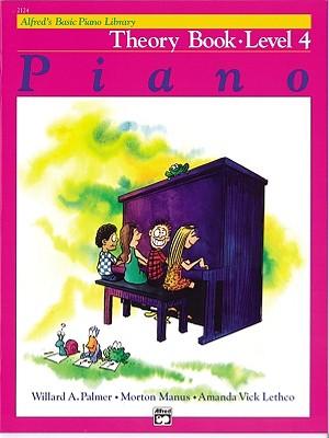 Alfred's Basic Piano Course Theory, Bk 4 (Alfred's Basic Piano Library), Willard Palmer, Morton Manus, Amanda Lethco