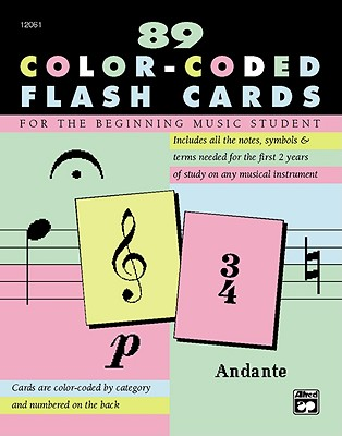 Image for Complete Color Coded Flash Cards for All Beginning Music Students