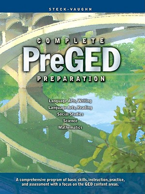 Image for Steck-Vaughn Pre-GED: Student Edition Complete Pre-GED Preparation 2004