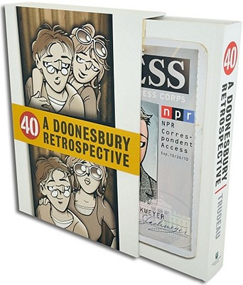 Image for 40: A Doonesbury Retrospective