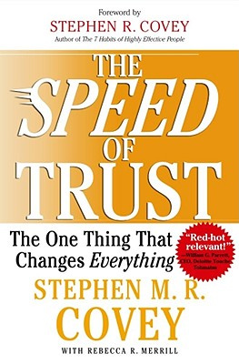 Image for FranklinCovey The Speed of Trust - Hardcover