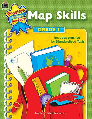 Map Skills Grade 1 (Practice Makes Perfect), Rosenberg, Mary