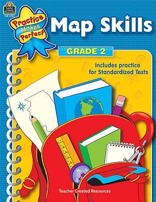 Map Skills Grade 2 (Practice Makes Perfect (Teacher Created Materials)), Rosenberg, Mary