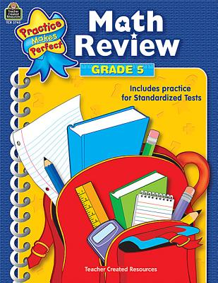 Image for Math Review Grade 5: Grade 5 (Practice Makes Perfect)