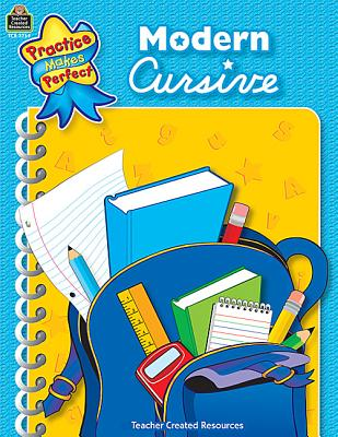 Image for Modern Cursive (Practice Makes Perfect)