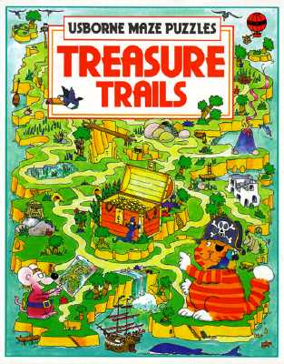 Image for Treasure Trails (Usborne Maze Puzzles)