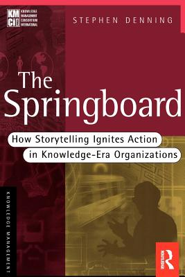 Image for SPRINGBOARD, THE HOW STORYTELLING IGNITES ACTION IN KNOWLEDGE-ERA ORGANIZATIONS