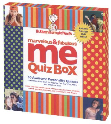 Image for Little MissMatched's Marvelous & Fabulous Me Quiz Box