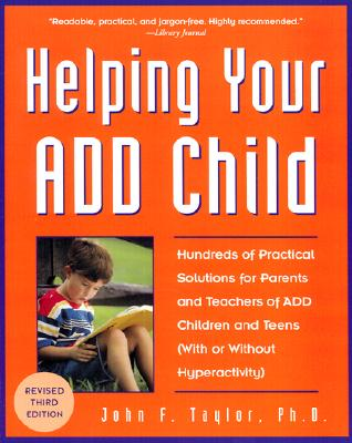 Image for HELPING YOUR ADD CHILD