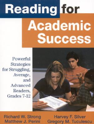 Image for READIONG FOR ACADEMIC SUCCESS