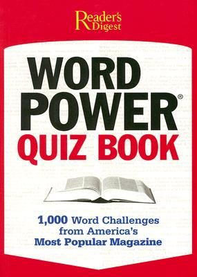 Reader's Digest Pocket Guide: Word Power Quiz Book, Editors of Reader's Digest