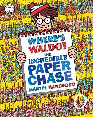 Where's Waldo? The Incredible Paper Chase, Handford, Martin