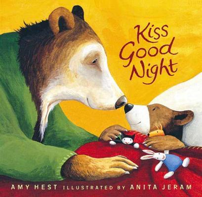 Kiss Good Night Lap-Size Board Book (Sam Books), Amy Hest (Author), Anita Jeram (Illustrator)