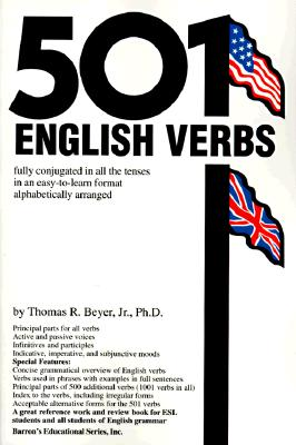 Image for 501 English Verbs