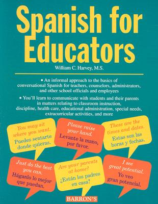 Image for Spanish for Educators (Book only)