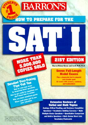 Image for How to Prepare for the SAT I (Barron's How to Prepare for  the SAT I (Book Only))
