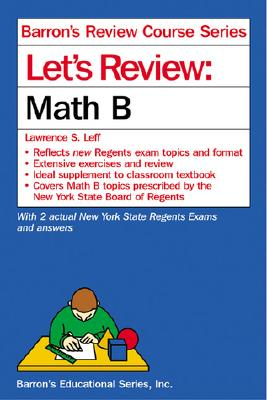 Image for Let's Review Math B (Let's Review Series)