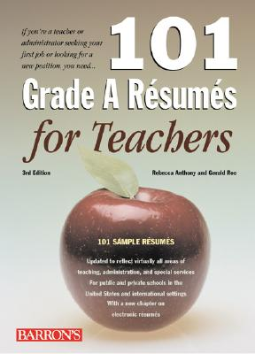 Image for 101 Grade A Resumes for Teachers