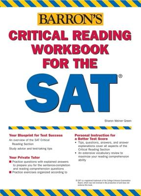 Image for Critical Reading Workbook for the Sat