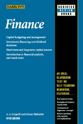 Image for Finance (Barron's Business Review Series)