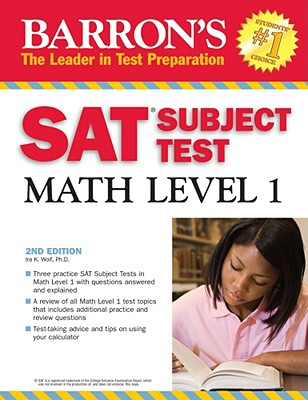 Image for SAT SUBJECT TEST MATH LEVEL 1 2008