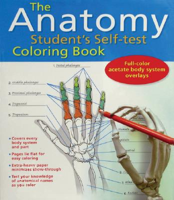Image for The Anatomy Student's Self-Test Coloring Book