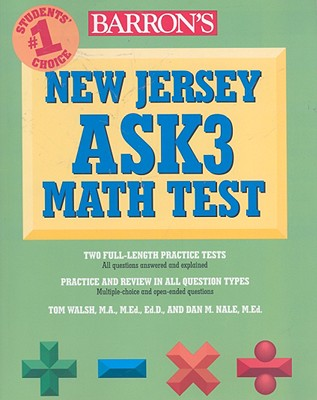 Image for BARRON'S NEW JERSEY ASK3 MATH TEST