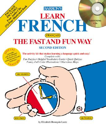 Image for French the Fast and Fun Way with Compact Discs (Fast and Fun Way CD Packages)