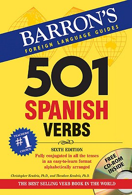 Image for Barron's Foreign Language Guides:  501 Spanish Verbs  (Book & CD-ROM)