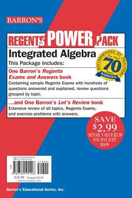 Image for Integrated Algebra Power Pack (Regents Power Packs)