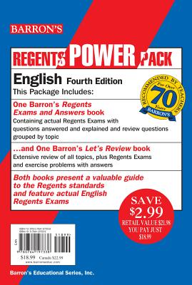English Power Pack (Regents Power Packs) 4th Edition, Carol Chaitkin M.S. (Author)