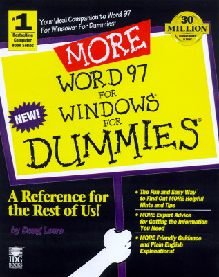 Image for MORE Word 97 for Windows For Dummies (For Dummies (Computers))