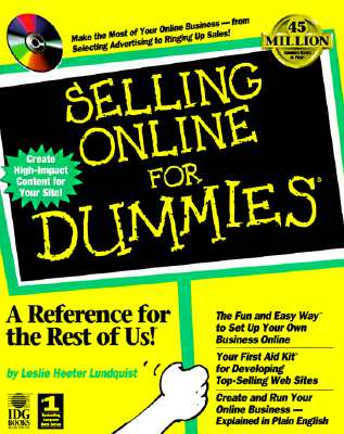 Image for Selling Online for Dummies