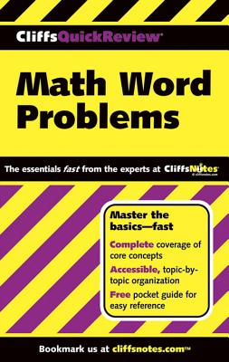 Image for CliffsQuickReview Math Word Problems
