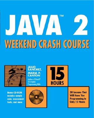 Image for Java 2 Weekend Crash Course