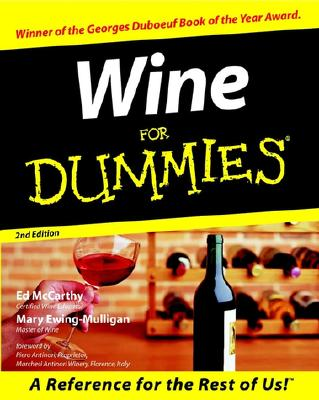 Image for WINE FOR DUMMIES 2ND ED