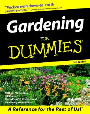 Image for Gardening For Dummies (For Dummies (Computer/Tech))