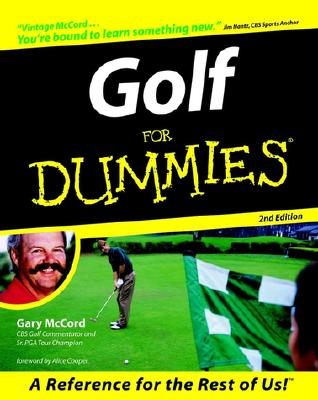 Image for Golf For Dummies (For Dummies (Computer/Tech))