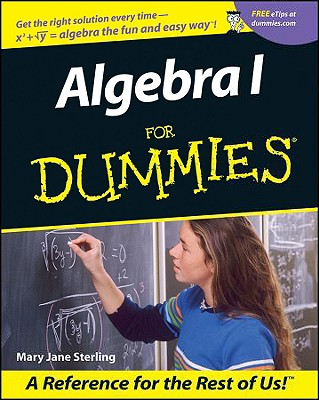 Algebra for Dummies, Sterling, Mary Jane