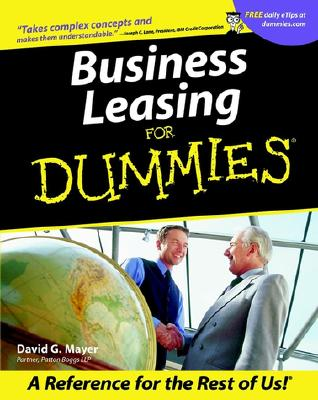 Image for Business Leasing For Dummies?