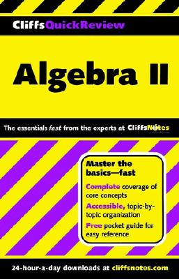 Image for CliffsQuickReview Algebra II