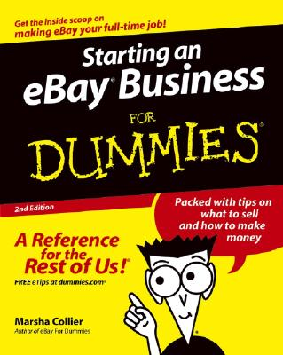 Image for Starting an eBay Business for Dummies, Second Edition