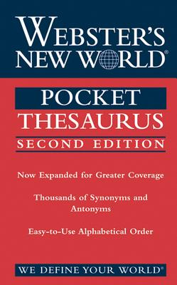 Image for Pocket Thesaurus