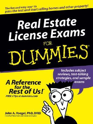 Real Estate License Exams For Dummies, John A. Yoegel, Drei