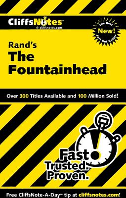 Image for CliffsNotes on Rand's The Fountainhead (Cliffsnotes Literature Guides)