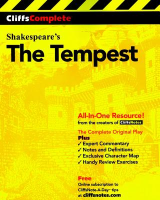 CliffsComplete The Tempest, Shakespeare, William