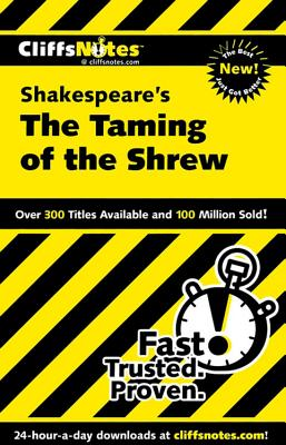Image for CliffsNotes The Taming of the Shrew (Cliffsnotes Literature Guides)