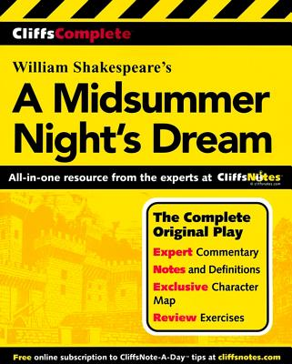 Image for CliffsComplete A Midsummer Night's Dream (Cliffs Complete Study Editions)